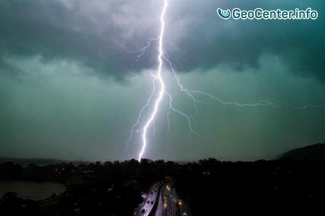 На Австралию обрушился мощный шторм