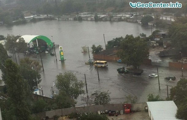 Потоп в Одессе, сентябрь 2016. Подобного стихийного явления в Одессе не было почти 130 лет.