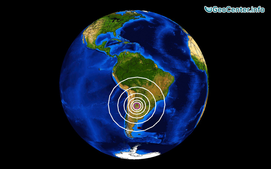 Землетрясения в Аргентине