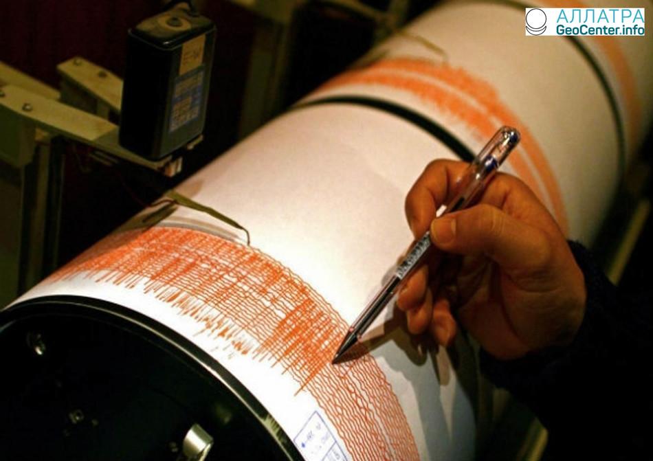 Землетрясение в Италии, 31 марта 2018 г.