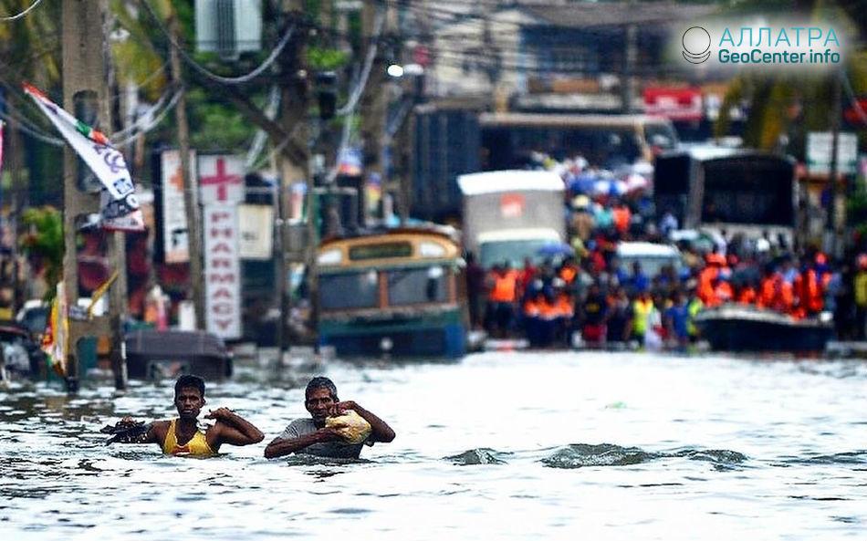 Наводнение на Шри-Ланке, май 2018 г.