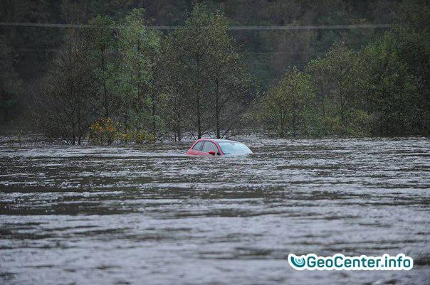 Наводнение в Норвегии, октябрь 2017 года