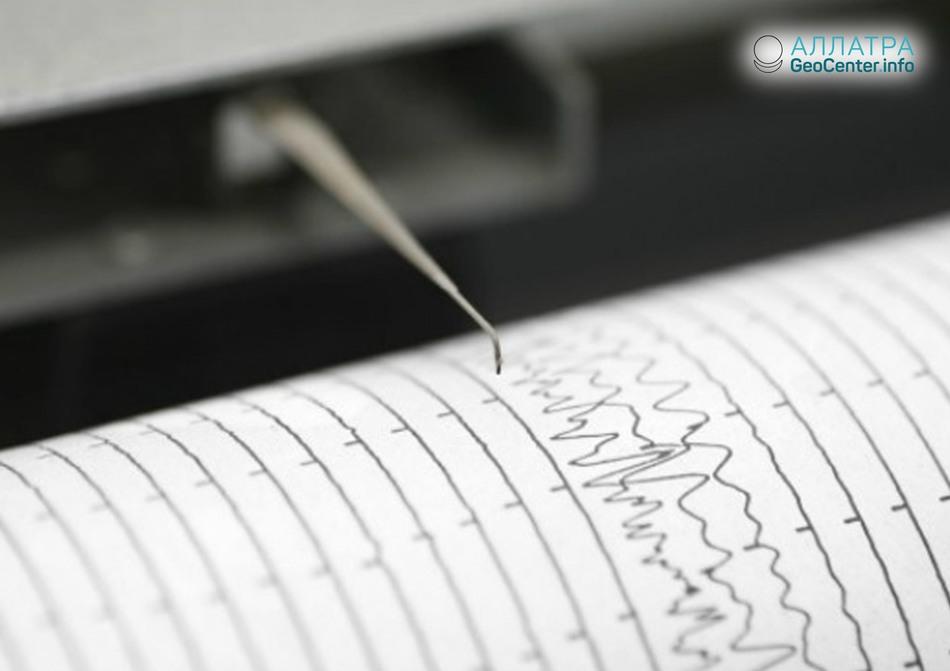 Землетрясение на границе Словении и Хорватии, июнь 2018 года