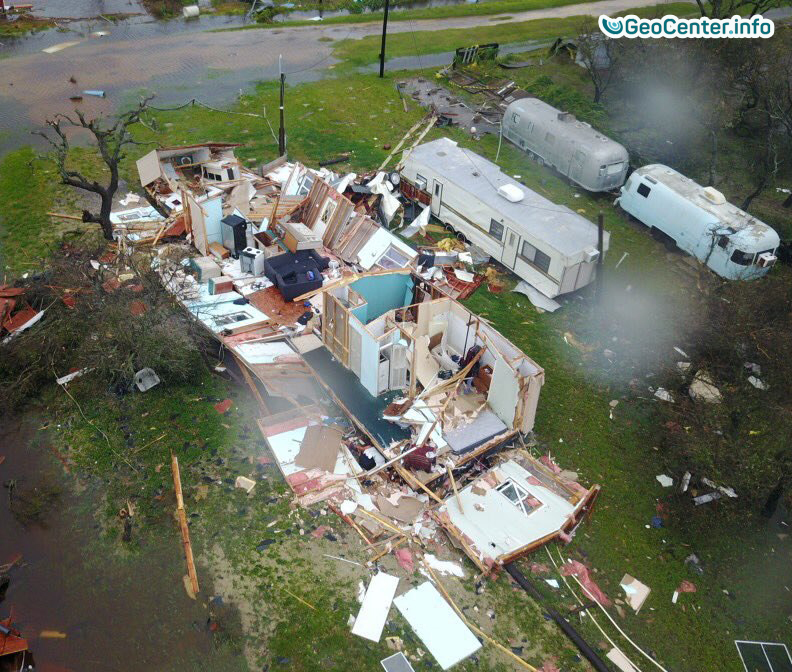 Последствия урагана Харви  в Техасе, август 2017 года