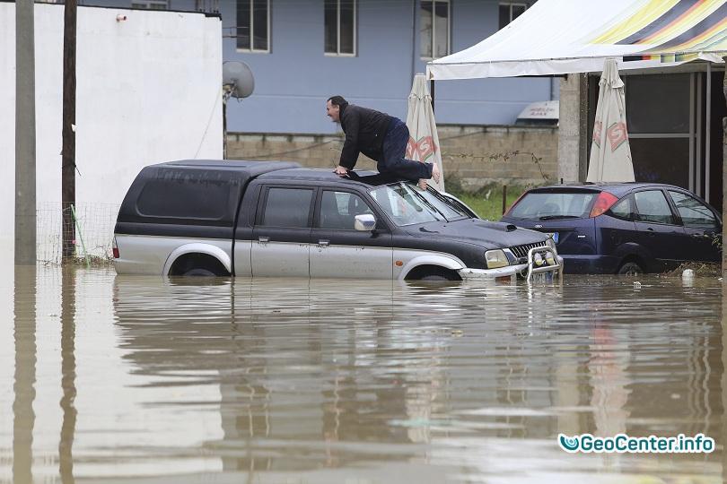 Наводнения в Албании в ноябре 2016