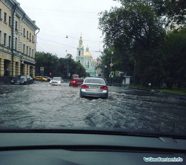 Аномальный ливень в Москве 15 августа 2016