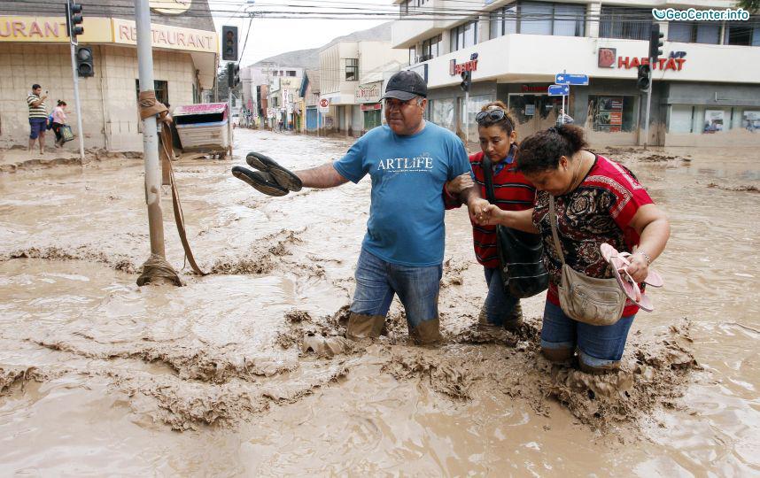 Наводнение в Чили