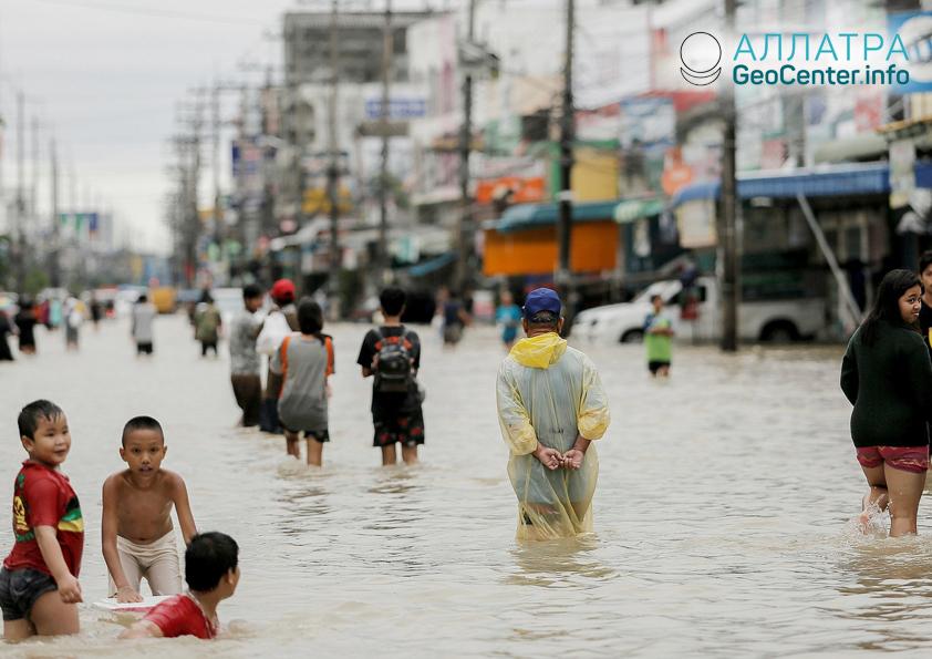 Наводнения в Таиланде, сентябрь 2018