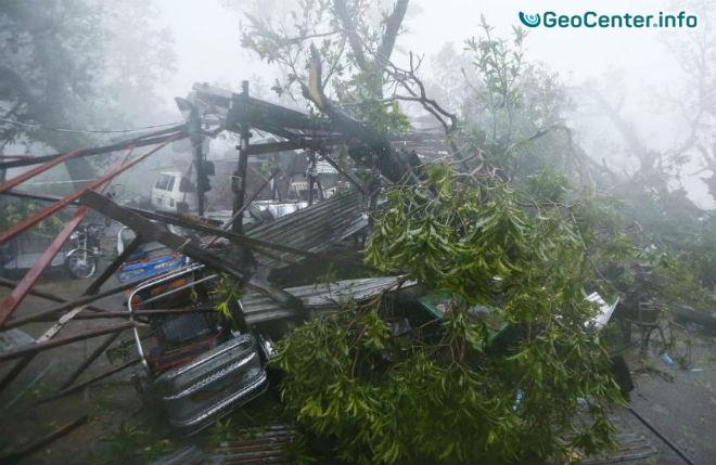"""Супертайфун """"ХАЙМА"""" покинул Филиппины 21 октября"""