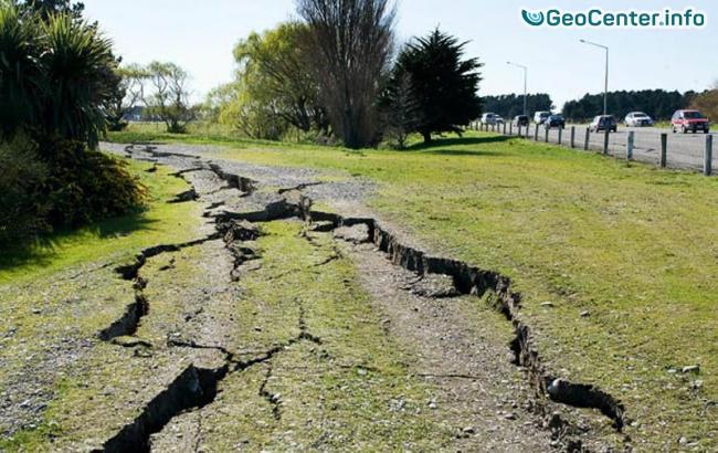 В Румынии произошло землетрясение 5,6