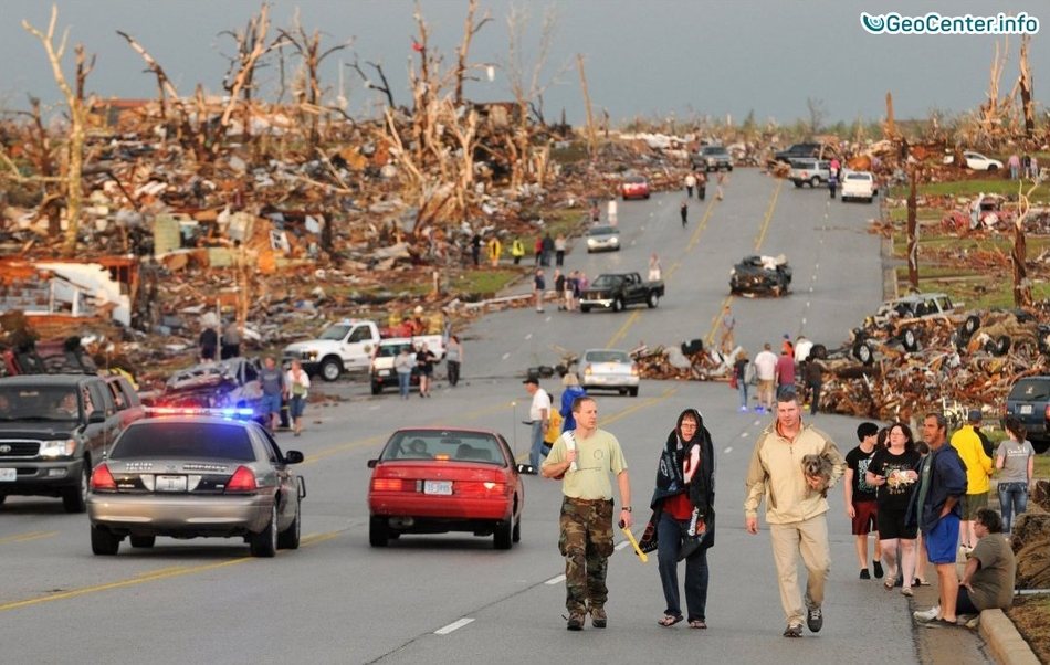 Торнадо на юге США