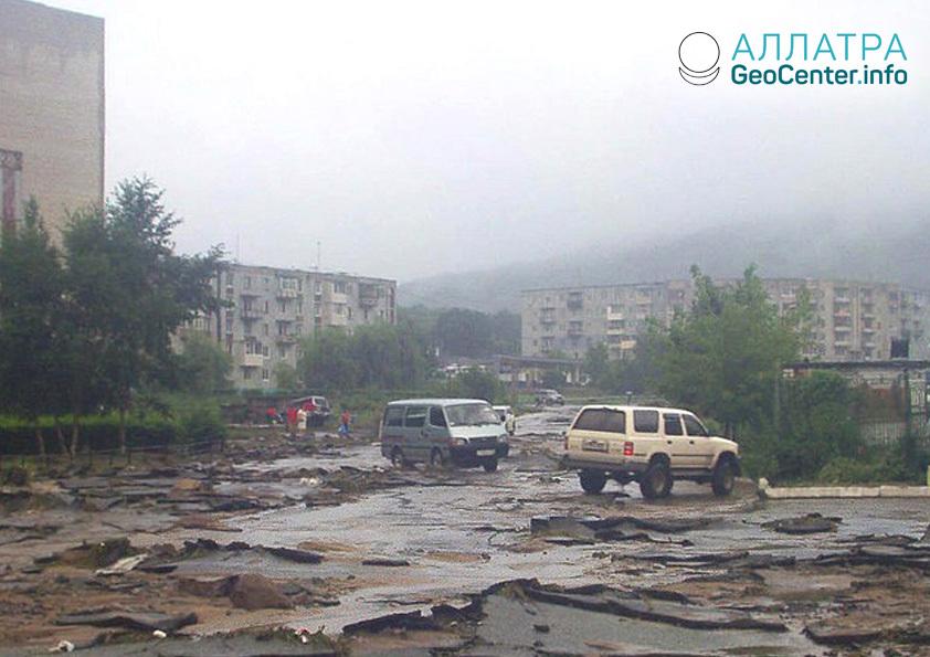 """Тайфун """"Джебби"""" в Приморье, сентябрь 2018"""