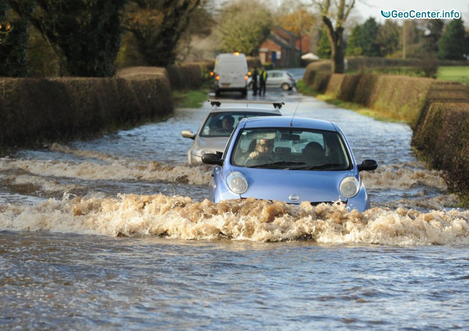 Наводнения в Англии, Шотландии и Уэльсе, ноябрь 2017 года