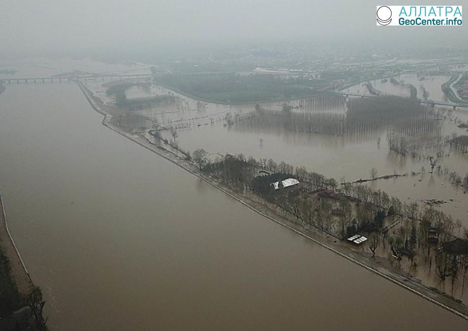 Сильные наводнения в Греции, Турции и Болгарии в конце марта 2018 г.