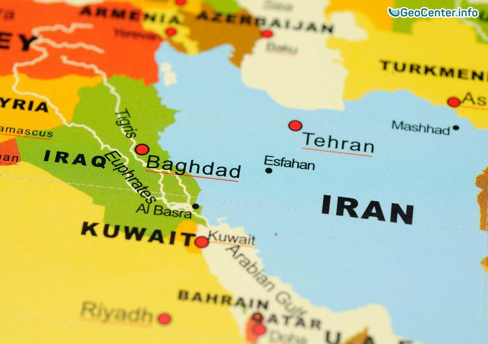 Землетрясение между Ираном и Ираком, январь 2018 г.