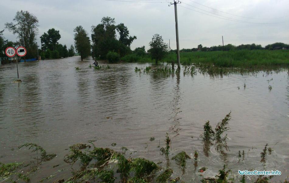 Наводнение в Приамурье, июль 2016