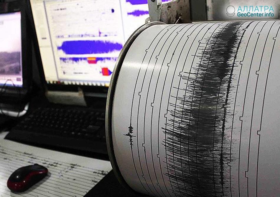 Мощное землетрясение у берегов США, июль 2018 г.