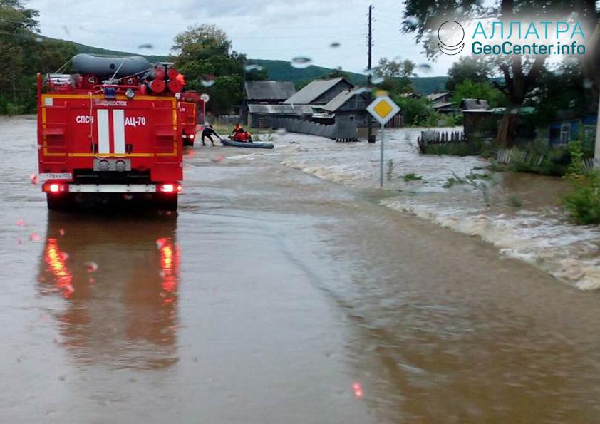 Тайфун в Приморье, сентябрь 2018