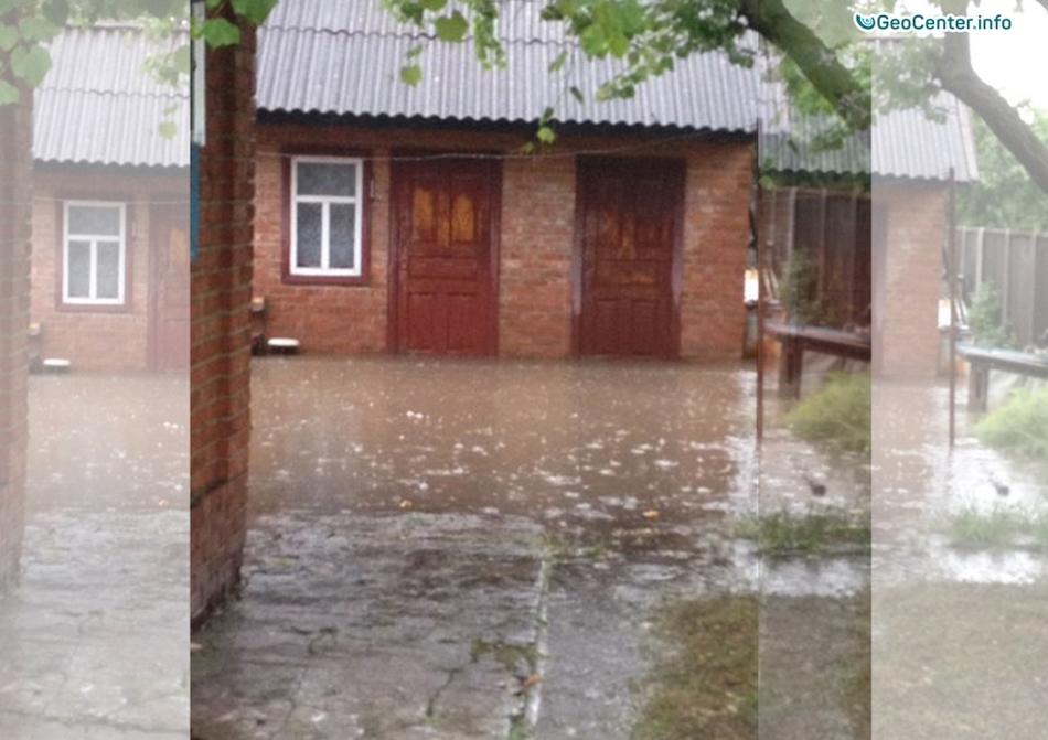 27 июня 2017 в Краснодарском крае выпал крупный град