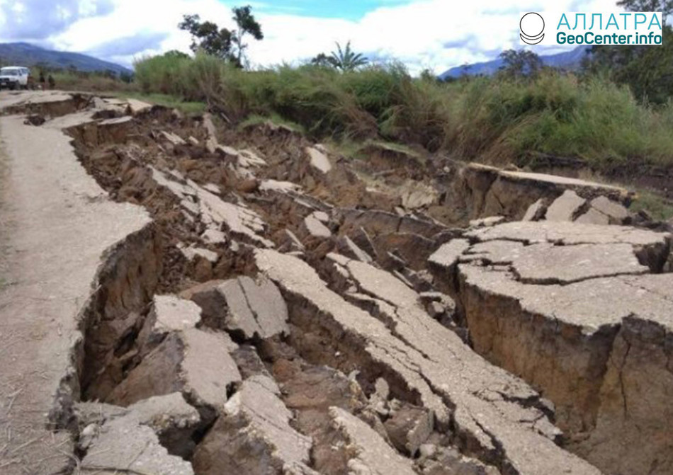 В Папуа-Новой Гвинее зарегистрировано землетрясение магнитудой 6,7, 6 марта 2018 года
