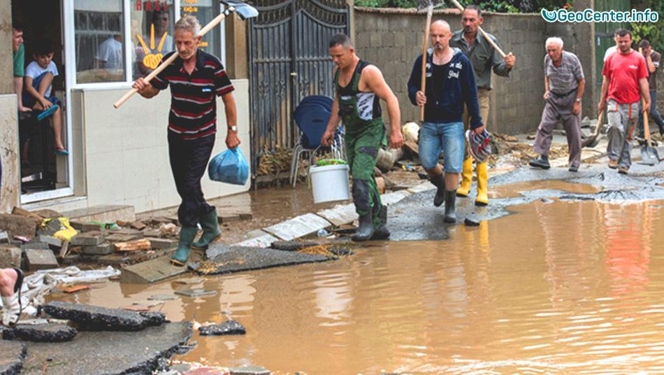 Разрушительный ураган в Македонии