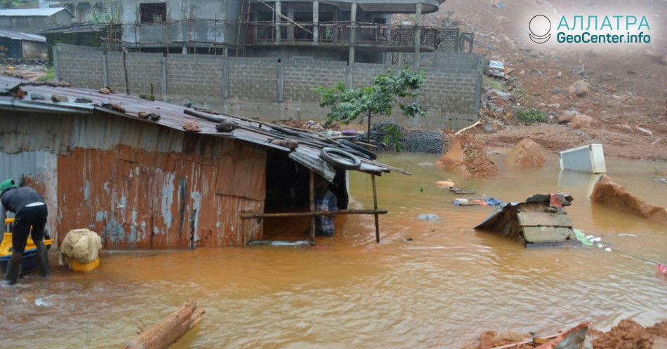 Наводнение в Восточной Африке, май 2018 г.