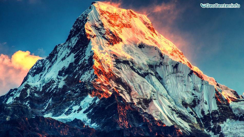 Землетрясение возле высочайшей вершины Земли