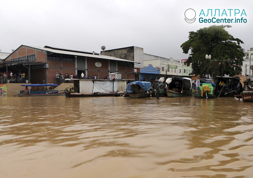 Масштабное наводнение в Кении, апрель 2018