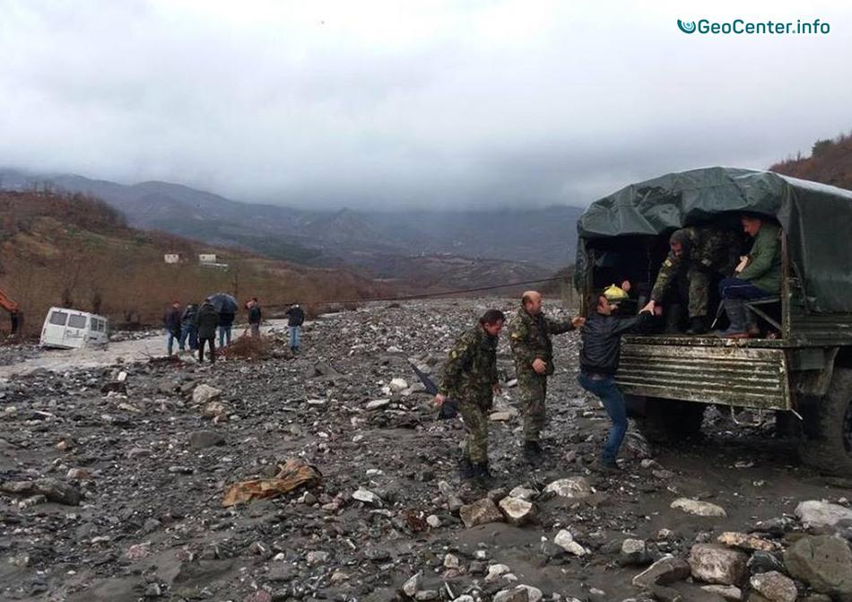 Наводнение в Албании, февраль 2018 г.