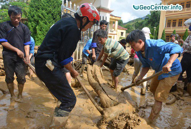 Наводнение во Вьетнаме, август 2017 года