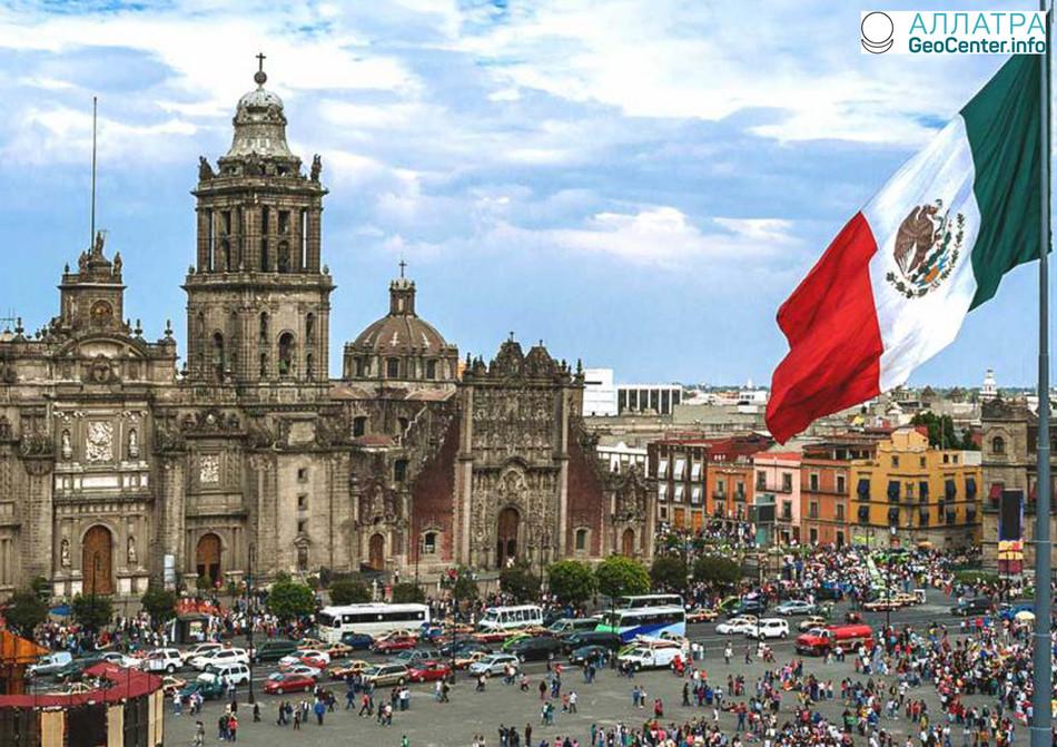 14 марта в Мехико наблюдали сильный град