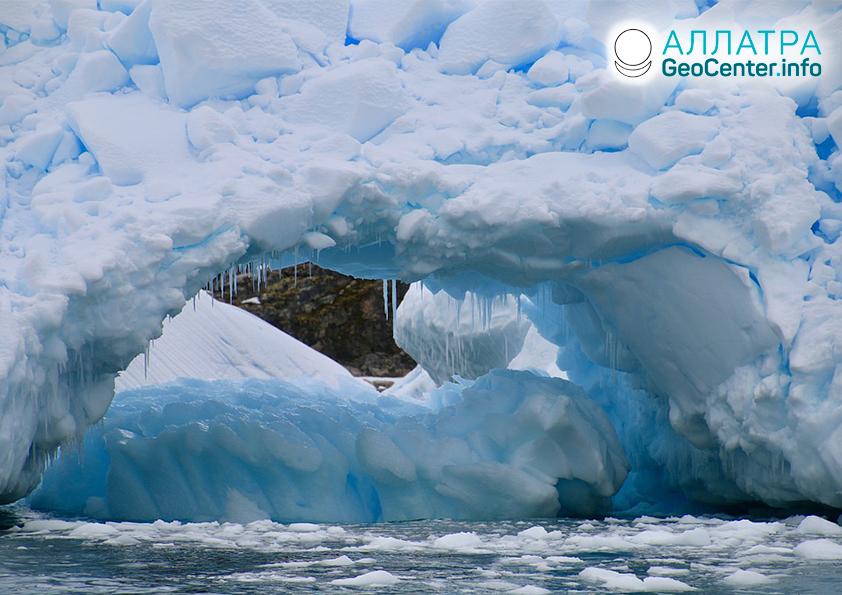 Аномально быстрое таяние льда в Антарктиде и Гренландии, январь 2020