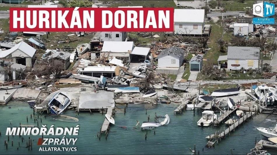 """Neobvyklé chování hurikánu """"DORIAN"""". Bahamy: část ostrova je ZAPLAVENA. Prognózy již nefungují?"""