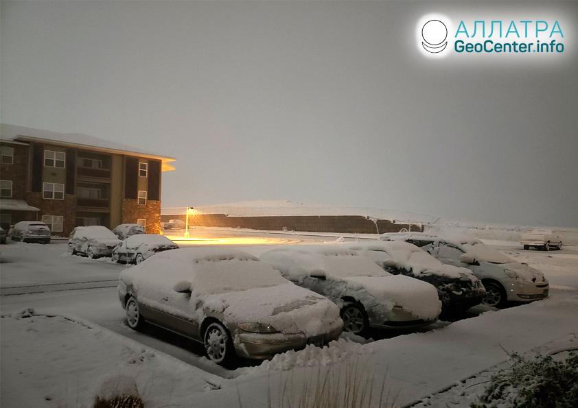 Аномальные снегопады, июнь 2020