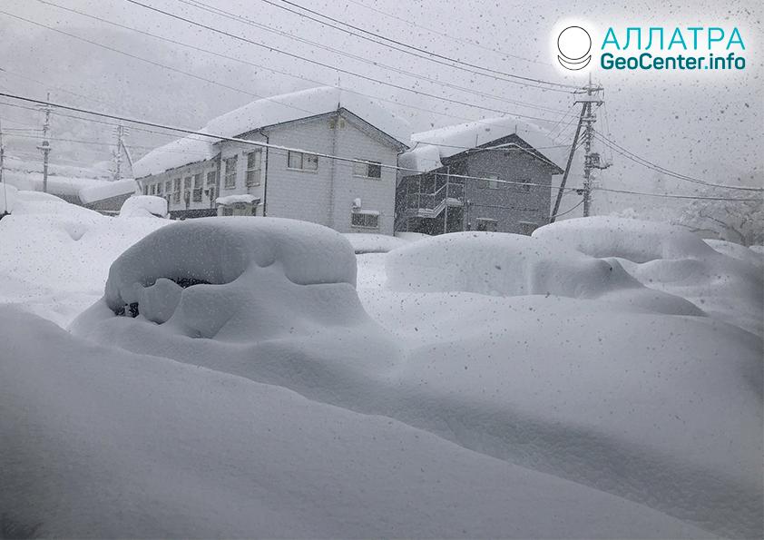 Аномальные снегопады в странах мира, декабрь 2020