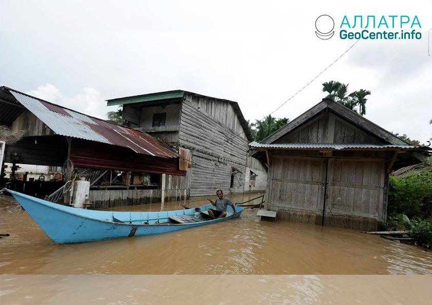 Наводнение в Индонезии, ноябрь 2018 г.