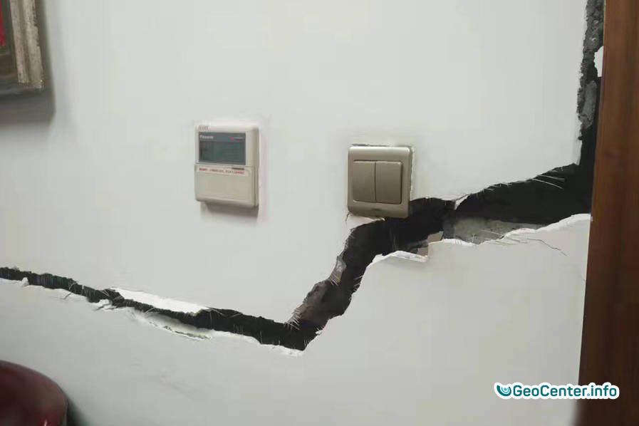 Землетрясение магнитудой 6.5 в Китае, август  2017