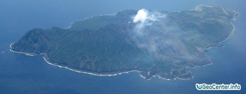 Извержение вулкана Суваноседзима