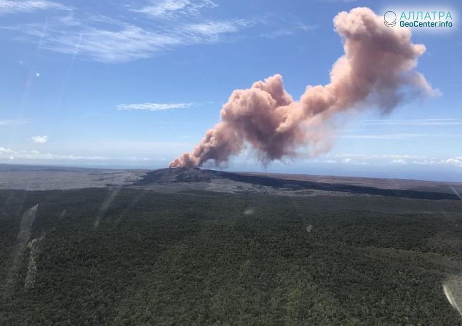 Серия крупных землетрясений на Гавайях, 4-6 мая 2018 года
