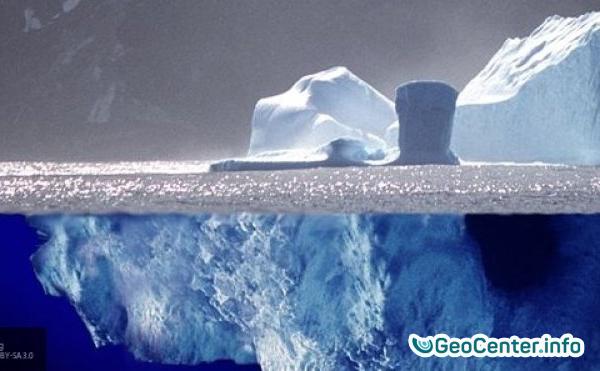 Спутники NASA  получили первые  снимки айсберга А-68, который откололся от ледника Ларсен