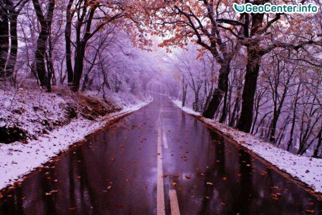 Ненастная погода в Казахстане