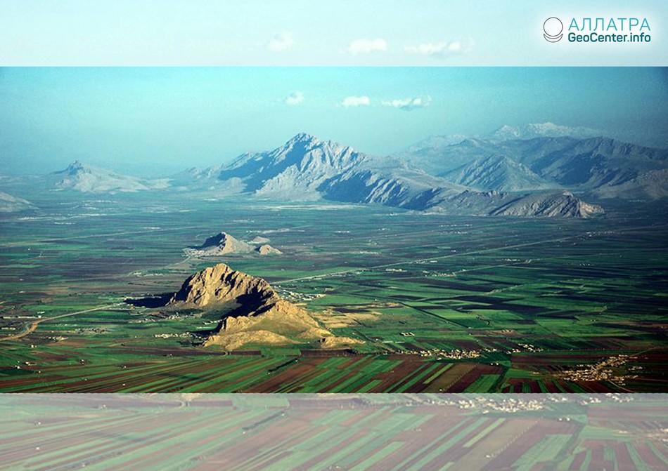 Серия землетрясений в Иране в воскресенье 22 июля 2018 г.
