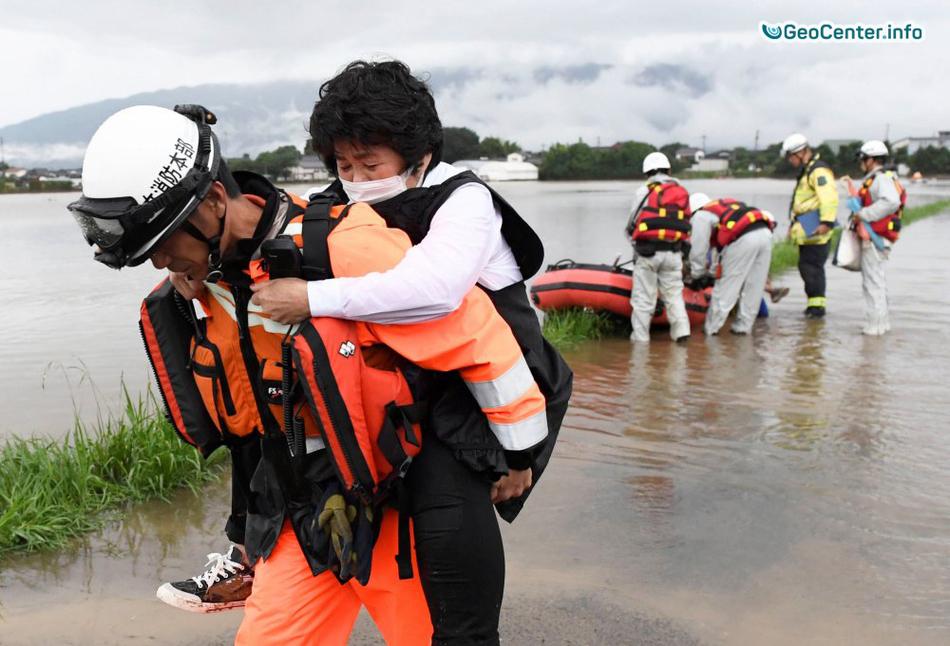 Наводнение в Японии, июль  2017 года
