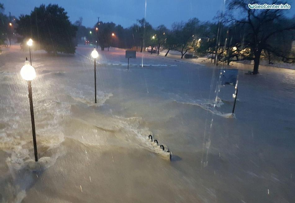 Наводнения в штате Техас, США