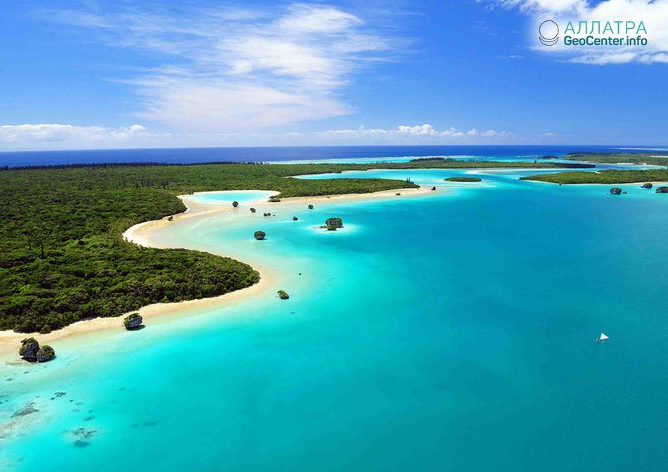Сразу 2 землетрясения у берегов Новой Каледонии, 16 октября 2018 г.