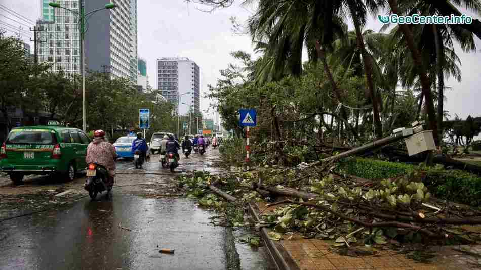 Тайфун Дамри.Последствие стихии во Вьетнаме.Сезон дождей во Вьетнаме.