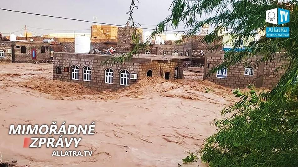 Běsnící živly! Záplavy → Jemen, Írán. Anomální sněžení na jaře v USA, Rusku. Cyklon Harold