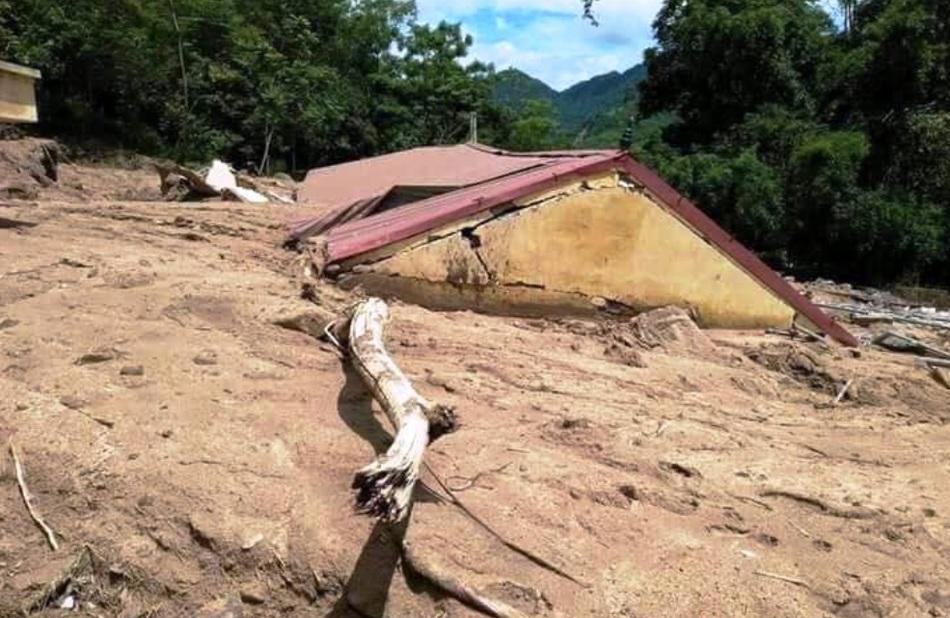 Наводнения и оползни во Вьетнаме, сентябрь 2018 г.