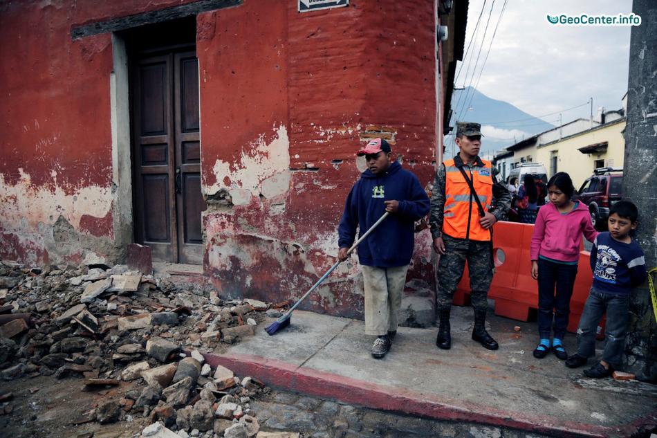 Землетрясение магнитудой 6,8 в Гватемале, июнь 2017 года