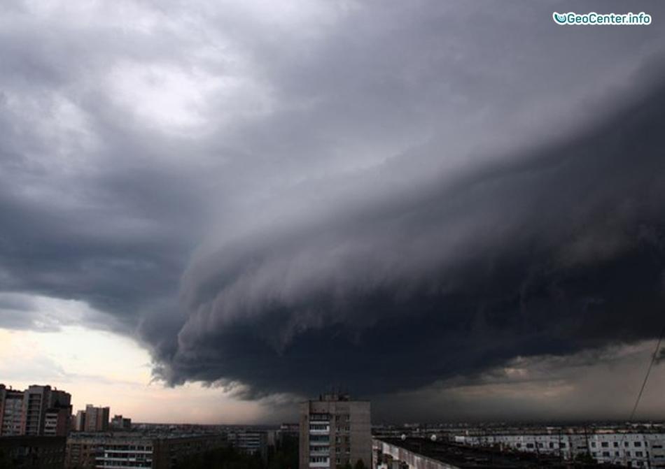 Шторм на Алтае, Россия